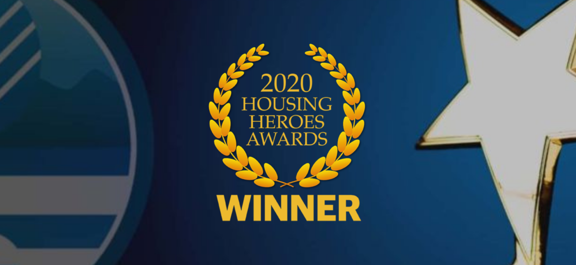 Housing Heros Awards Winner 2020