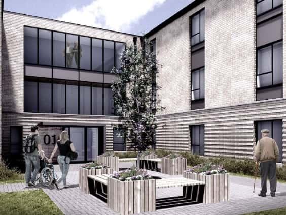 Green Street Housing Development Saltcoats